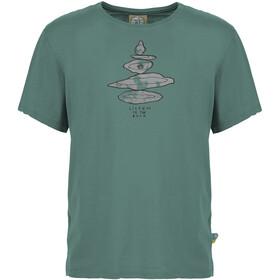 E9 Equilibrium T-Shirt Uomo, verde